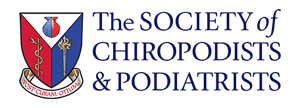The Society of Chiropodists & Podiatrists logo